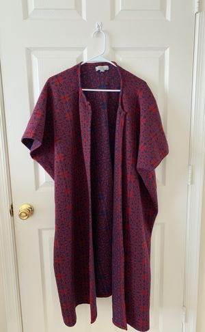 Short sleeve calf length wool-like shawl for Sale in Rockville, MD
