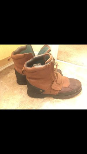 Used polo boots size 9.5 winter is coming get ur work boots now for Sale in Waldorf, MD