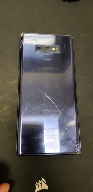 Samsung Note 9 Bad IMEI cracked LCD for Sale in Houston, TX
