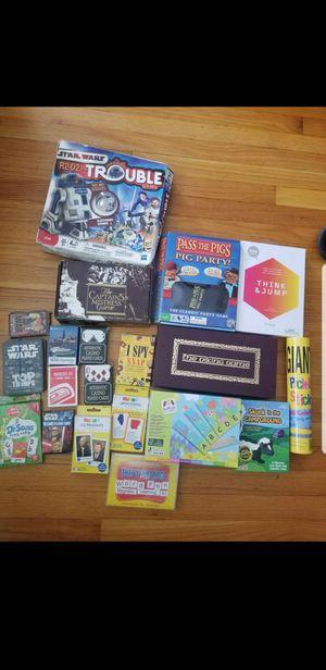 Board games $20 all for Sale in Berwyn, IL