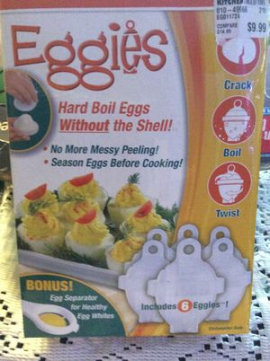 Eggies hard boil eggs with out the. Shell for Sale in Tacoma, WA