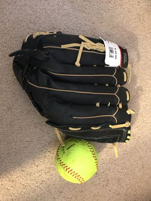 Softball Gloves w/softballs for Sale in Hayward, CA