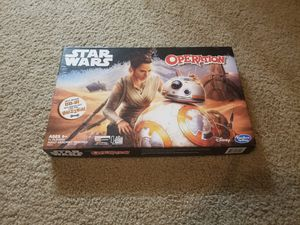 Star Wars BB8 Operation Board Game for Sale in Levittown, PA