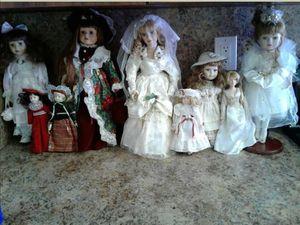 Vintage Porcelain Dolls for Sale in Lakeland, FL