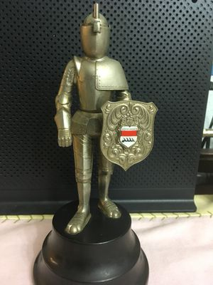Vintage German table lighter Knight in Armor for Sale in Tustin, CA