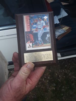 Mark McGwire baseball card for Sale in Greenbrier, AR