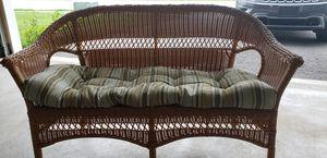 Wicker furniture set for Sale in Martinsburg, WV