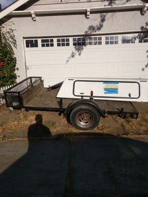 Trailer and truck Camper Shell for sale for Sale in Canoga Park, CA