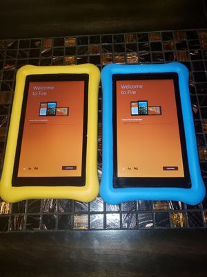 "Amazon fire 7"" 16gb 7 gen tablets for Sale in Phoenix, AZ"