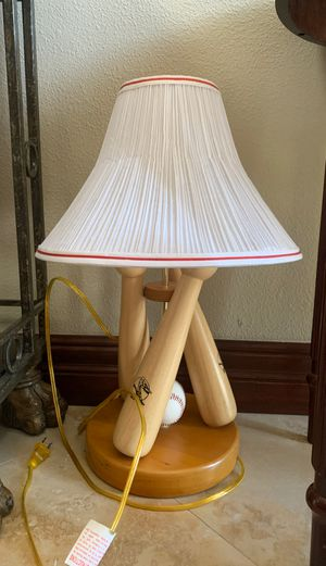 Baseball lamp for Sale in Tampa, FL