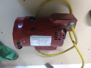 3/4 HP Electric Motor for Sale in Bakersfield, CA