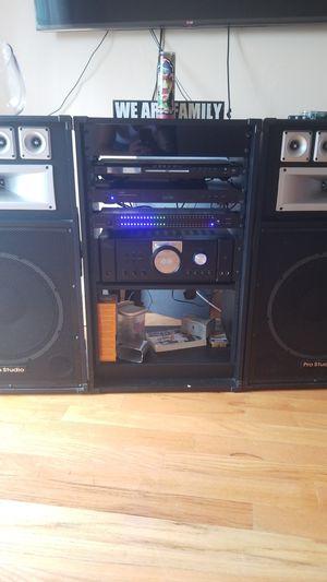 technical pro stereo sytem for Sale in Newark, NJ