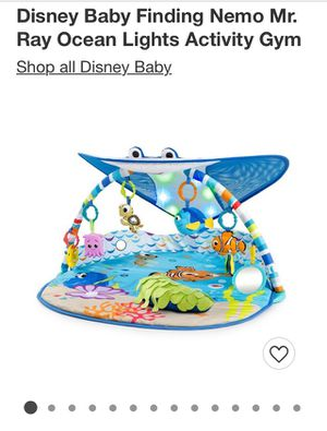 Disney Finding Nemo - Tummy Tim for Sale in New Hampton, NY