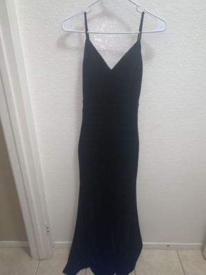 black prom dress for Sale in Winchester, CA