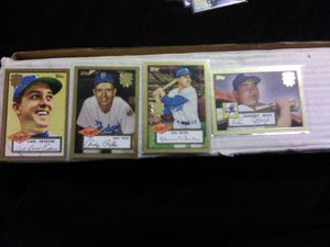 1952 Topps Gold Autograph Brooklyn Dodgers world series set for Sale in Montrose, CO