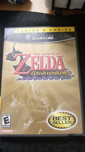 The Legend of Zelda The Wind Waker Gamecube game for Sale in Campbell, CA