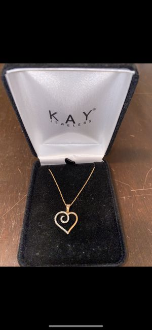 """KAY Diamond & Gold """"18 necklace for Sale in Moreno Valley, CA"""
