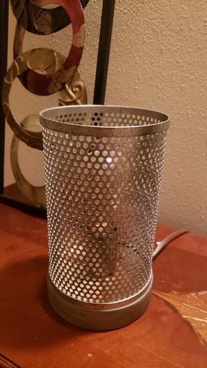 Industrial lamp w Edison bulb for Sale in Denver, CO