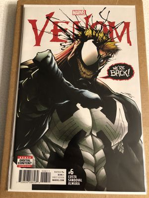 Marvel Comics VENOM issue #6 comic book Key issue - Hot for Sale in Plainfield, IL
