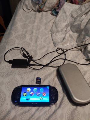 PS Vita with case, charger, and MGS HD collection for Sale in Sanford, FL