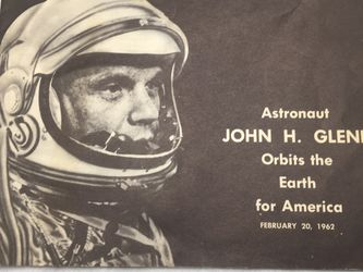 Vintage Booklet John Glen Orbits The Earth For America for Sale in Issaquah,  WA