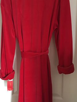Red velour Robe for Sale in Tigard,  OR
