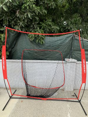 PowerNet Team Color Baseball Softball 7x7 Hitting Net w/Bow Frame for Sale in East Los Angeles, CA