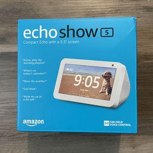 Amazon Echo Show 5 - Brand New for Sale in Oakland, CA
