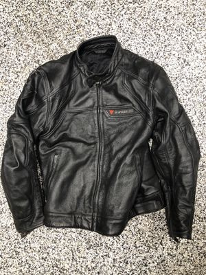 Dainese Perforated Leather Motorcycle Jacket Large for Sale in Arlington, VA