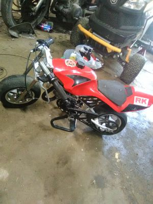 50cc pocket rocket needs pulley for Sale in Weirton, WV