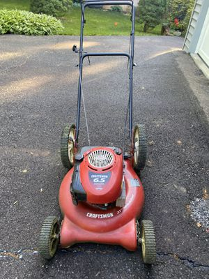 "21"" Craftsman push mower for Sale in Springfield, VA"