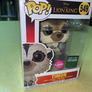 Timon Flocked Funko Pop for Sale in Lewisville, TX