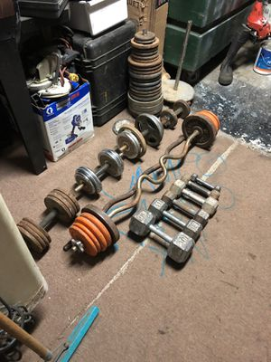 Iron weights for Sale in Modesto, CA