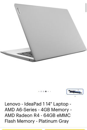 Lenovo Ideapad 1 14 , Brand new sealed in the box for Sale in Rancho Cucamonga, CA