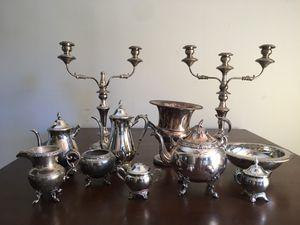 Silver tea set for Sale in Scottsdale, AZ