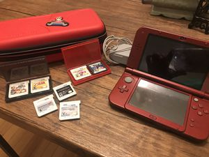Nintendo 3DS XL with games and case for Sale in Austell, GA