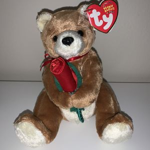 Ty Beanie Babies Teddy Bear With Rose for Sale in West Hartford, CT