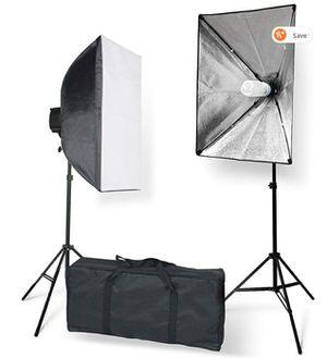 "StudioFX 800W Photography 20""x28"" EZ Softbox with E27 Socket Light Lighting Kit (Set of 2) H601S2 for Sale in Cincinnati, OH"