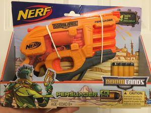 Nerf Persuader Model 2169 DoomLands 4 Shot Toy Gun- Brand New Factory Sealed! for Sale in Atlanta, GA
