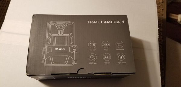"""WiMiUS H6 Trail Camera, Upgraded 2.0"""" LCD 16MP 1080P"""