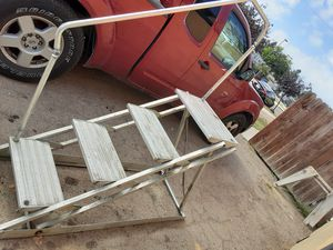 Step deck ladder aluminum for motor home for Sale in Huntington Beach, CA