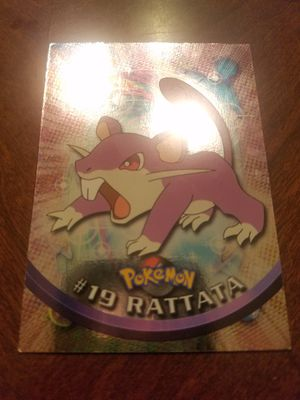 1999 Topps Pokemon TV Animation Edition Series 1 - #19 Rattata for Sale in South Windsor, CT