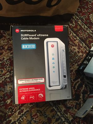 Motorola Surfboard Extreme Cable Modem for Sale in San Diego, CA