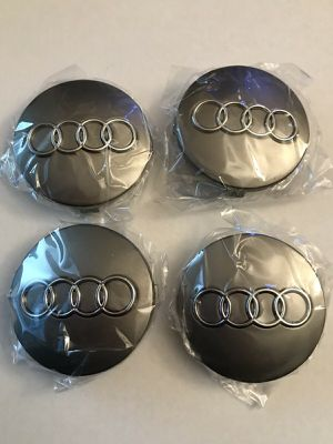 "4x Audi WHEEL CENTER HUB CAPS 60mm 2.2"" 4B0601170 for Sale in Chattanooga, TN"