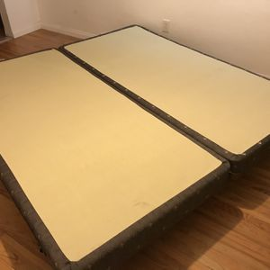 Sealy box spring & frame for Sale in San Diego, CA