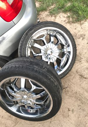 18inch tyfun Rims an tires for Sale in Goldsboro, NC