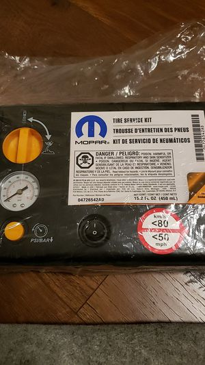 MOPAR Jeep SRT tire repair kit inflator for Sale in Seattle, WA