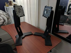 Dual Computer monitor set with stands and cords for Sale in San Francisco, CA