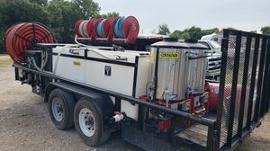 Sirocco Bulldog Pro pressure washer and reclaim for Sale in Cypress, TX