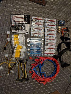 Mining Risers, PS Splitters, fan controller, 6pin to molex for Sale for sale  Kalamazoo, MI